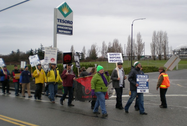 14951 Tesoro strike Feb 7, 2015
