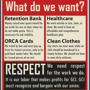 GCI what we want.